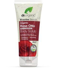 Dr. Organic Rose Body Scrub (200mL)