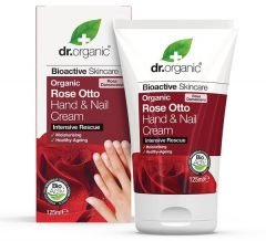 Dr. Organic Rose Hand & Nail Cream (125mL)