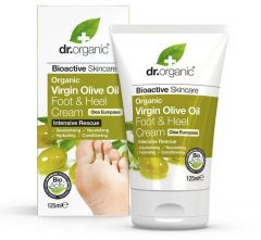 Dr. Organic Olive Foot & Heel Cream (125mL)