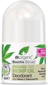 Dr. Organic Hemp Deodorant (50mL)