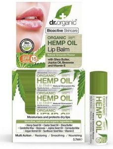 Dr. Organic Hemp Oil Lip Balm (5,7mL)