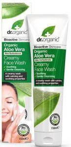 Dr. Organic Aloe Vera Aloe Vera Creamy Face Wash (150mL)