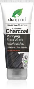 Dr. Organic Charcoal Face Wash (200mL)