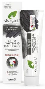 Dr. Organic Charcoal Toothpaste (100mL)