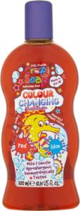 Kids Stuff Crazy Colour Changing Bubble Bath Red to Blue (300mL)
