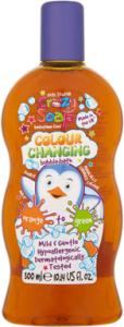 Kids Stuff Crazy Colour Changing Bubble Bath Orange to Green (300mL)