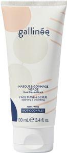 Gallinée Prebiotic Face Mask and Scrub (100mL)