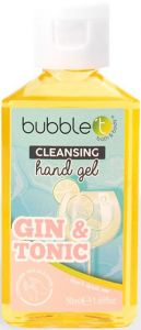 Gin & Tonic Anti-Bacterial Cleansing Hand Gel (50mL)