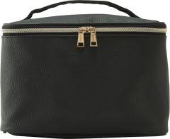 JJDK Cosmetic Bag Siri Black PU (27 x 18 x 17 ) 90296
