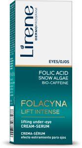 Lirene Folacin Eye-Area Cream-Serum (15mL)