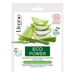 Lirene Eco Power Moisturzing & Soothing Sheet Mask