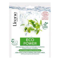 Lirene Eco Power Sebo-Regulating & Normalizing Sheet Mask