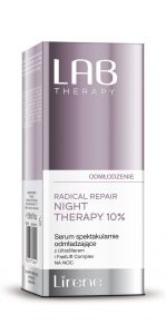 Lirene LAB Therapy Anti Ageing Serum Radical Repair Night Therapy 10% (30mL)