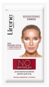 Lirene Concentrated Under Eye-treatment in Strip No Wrinkles  (1pair)