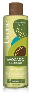 Lirene Skin Care Oil Avocado&Almond (200mL)