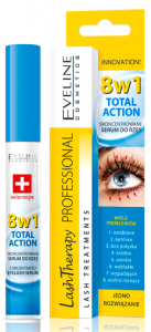 Eveline Cosmetics Lash Therapy Professional Concentrated Eyelash Serum 8in1 (10mL)