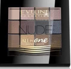 Eveline Cosmetics All In One Eyeshadow Palette 12 Colors Nude