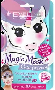 Eveline Cosmetics Fabric Face Mask Magic Mask Unicorm