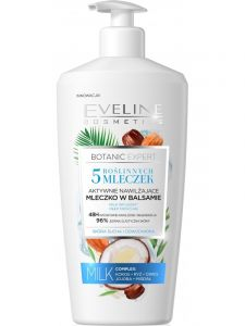 Eveline Cosmetics Botanic Expert Body Lotion 5-milks (350mL)
