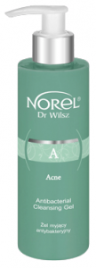 Norel Dr Wilsz Acne Antibacterial Cleansing Gel (200mL)