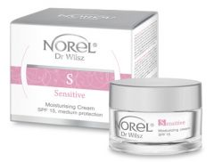 Norel Dr Wilsz Sensitive Moisturising Cream 15 SPF (50mL)