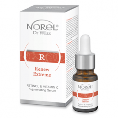 Norel Dr Wilsz Renew Extreme Retinol&vitamin C Rejuvenating Seerum 35+ (10mL)