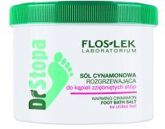Floslek Drstopa Warming Cinnamon Foot Bath Salt (500g)