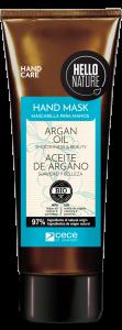 Hello Nature Hand Cream-mask Argan Oil Smoothness & Beauty (75mL)