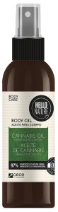 Hello Nature Cannabis Oil Body-hair-face Firmness & Relaxation (130mL)