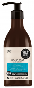 Hello Nature Liquid Soap Cannabis Oil Firmness & Relaxation (270mL)
