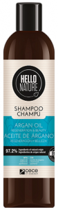 Hello Nature Shampoo Argan Oil Regeneration & Beauty (300mL)