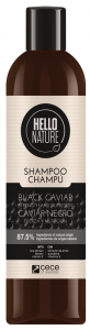 Hello Nature Shampoo Black Caviar Strenght & Nutrition (300mL)