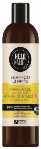 Hello Nature Shampoo Marula Oil Softness & Shine (300mL)