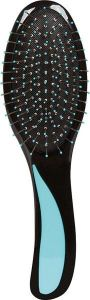 Donegal Hair Brush Black Body With Assorted Lamina Blue/gr