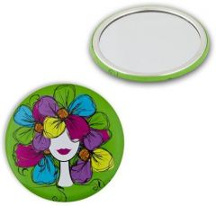 Donegal Round Compact Mirror Noa