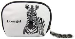 Donegal Cosmetic Bag Zebra