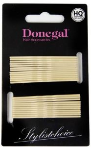 Donegal Bobby Pins Printing Separately Beige (24pcs)