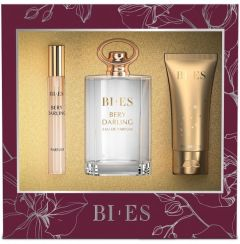 Bi-es Berry Darling Gift Set for Women EDP (100mL) + SG (50mL) +EDP (12mL)