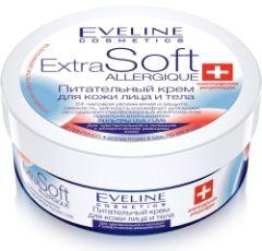Eveline Cosmetics Extra Soft Nourishing Face And Body Cream For Sensitive Skin (200mL)