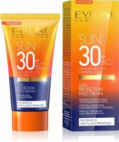 Eveline Cosmetics Amazing Oils Sun Protection Face Cream SPF30 (50mL)