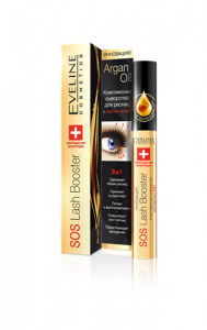 Eveline Cosmetics Sos Lash Booster Eyelash Serum 5in1 With Argan Oil (10mL)