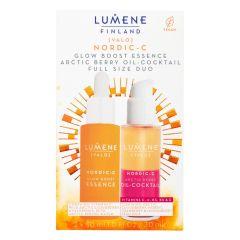 Lumene Nordic-C Essence + Oil-Cocktail Duo Set