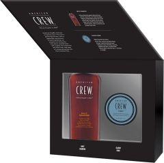 American Crew Fiber Wax (85g) + Daily Shampoo (250mL) Gift Box