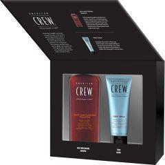 American Crew Fiber Cream (100mL) + Daily Moisturizing Shampoo (250mL) Gift box