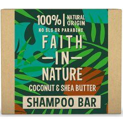 Faith in Nature Shampoo Bar Coconut & Shea Butter (85g)