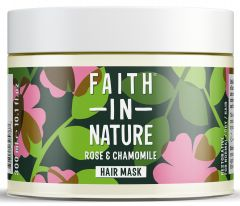 Faith in Nature Wild Rose & Chamomile Restoring Hair Mask (300mL)