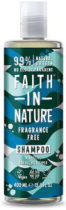 Faith in Nature Fragnance Free Shampoo Sensitive (400mL)