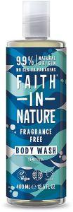 Faith in Nature Fragnance Free Shower Gel/Foam Bath Sensitive (400mL)