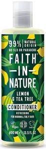 Faith in Nature Refreshing Conditioner Lemon &Tea Tree (400mL)