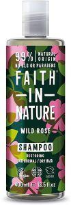 Faith in Nature Restoring Shampoo Wild Rose (400mL)